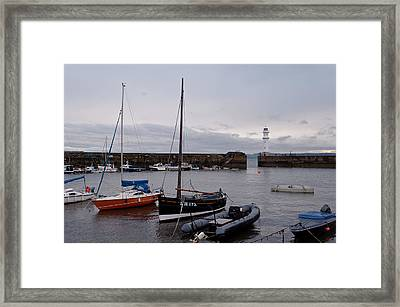 Framed Print featuring the photograph Early In The Morning by Sergey Simanovsky