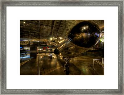 Early Jet Fighter Framed Print by David Dufresne