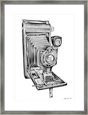 Early Kodak Camera Framed Print by Greg Joens