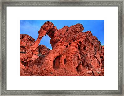 Early Light At Elephant Rock Framed Print