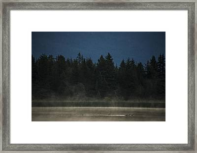 Early Morning Framed Print by Aaron Bedell