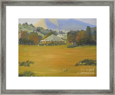 Early Morning At Sofala Framed Print