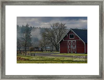 Early Morning At The Park Framed Print