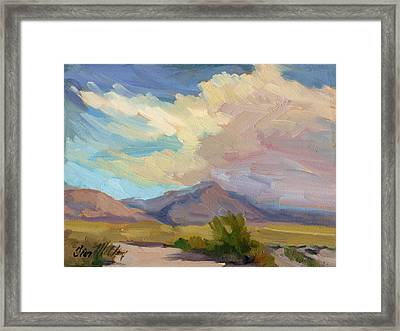 Early Morning At Thousand Palms Framed Print