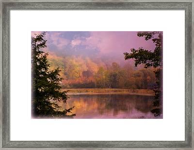 Early Morning Beauty Framed Print