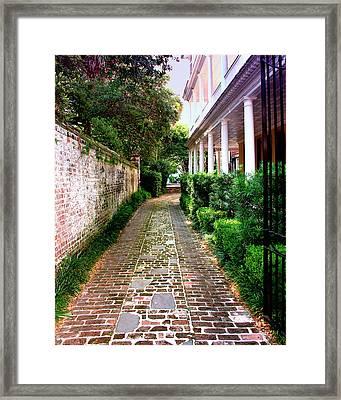 Early Morning Charleston Sc Framed Print by William Dey