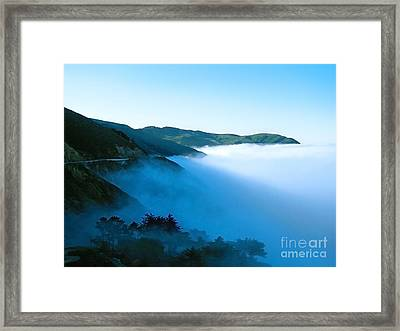 Early Morning Coastline Framed Print