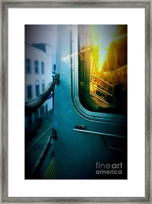 Early Morning Commute Framed Print by James Aiken