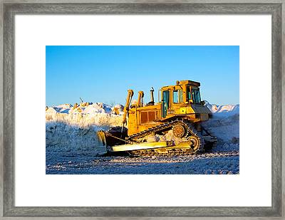 Early Morning Dozing Framed Print by Paul Wash
