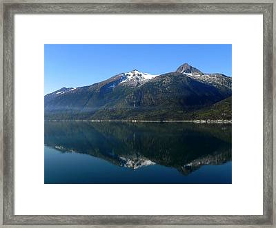 Early Morning Fog Framed Print by Kathy Churchman