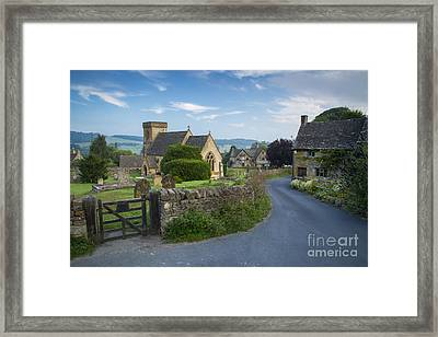 Early Morning In Snowshill Framed Print by Brian Jannsen