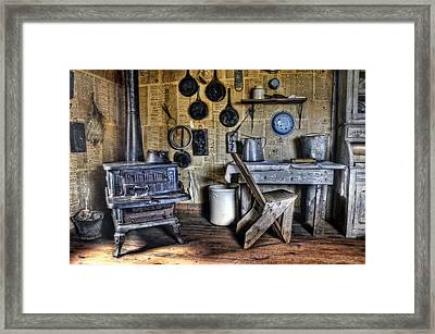 Early Morning In The Kitchen Framed Print by Ken Smith