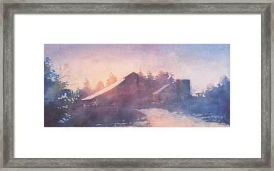 Early Morning Framed Print by John  Svenson