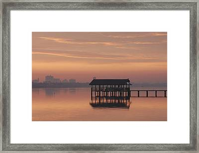 Early Morning Framed Print by Kimberly Oegerle