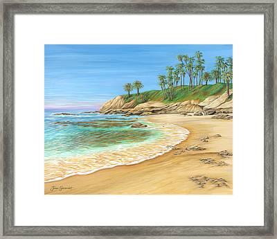 Early Morning Laguna Framed Print