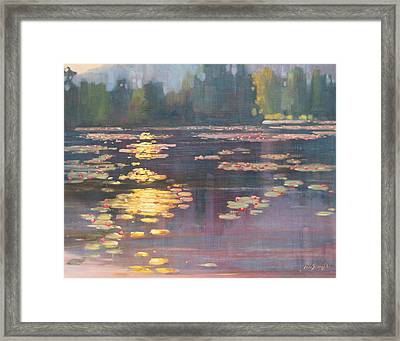 Early Morning Framed Print by Len Stomski