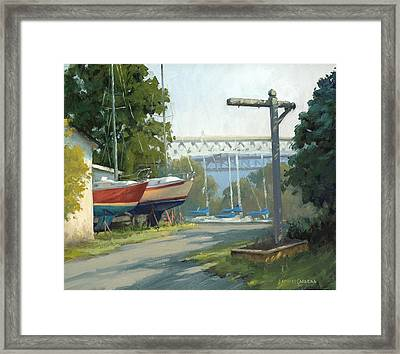 Early Morning Light Framed Print by Armand Cabrera