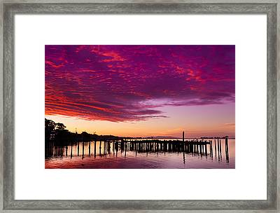 Early Morning Light On Bodega Bay Framed Print