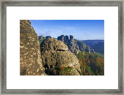 Early Morning On Neurathen Castle Framed Print