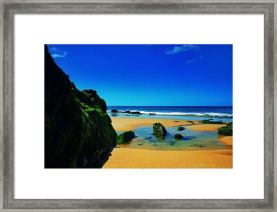Early Morning On The Beach II Framed Print by Marco Oliveira