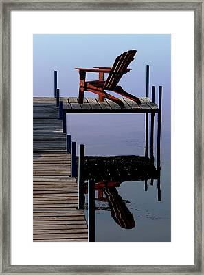 Early Morning Peace Framed Print