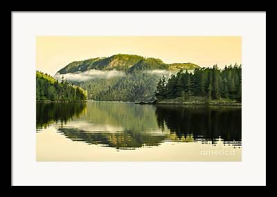 East Cracoft Island Framed Prints