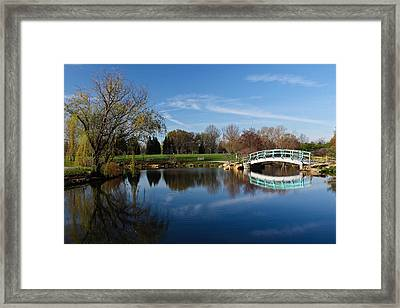 Early Morning Retreat Framed Print by Julie Andel