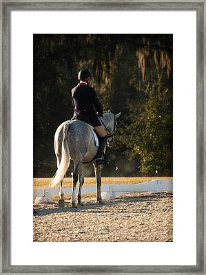 Early Morning Ride Time Framed Print