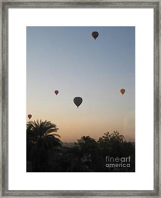 Early Morning Rising Framed Print by John Malone