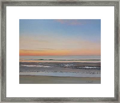 Early Morning Sky Framed Print