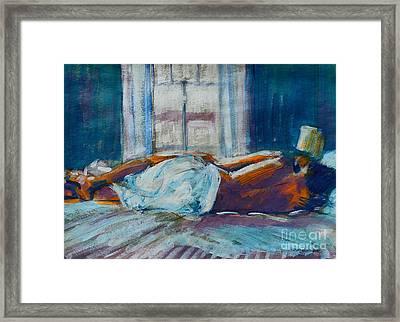 Early Morning Spooning Framed Print
