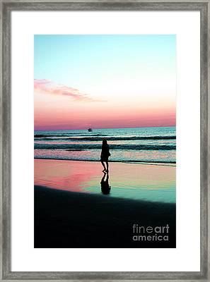 Early Morning Stroll Framed Print by Dan Stone