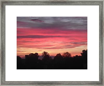Framed Print featuring the photograph Early Morning Sunrise 2 by Martin Blakeley