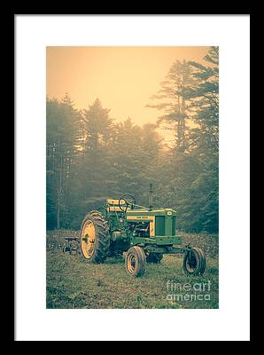 Old Farm Equipment Photographs Framed Prints