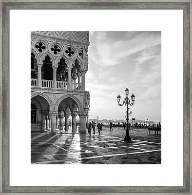 Early Morning - Venice Framed Print