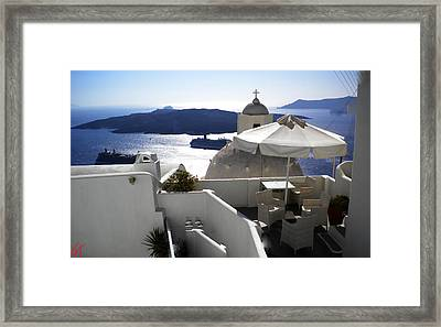 Early Morning View  Framed Print