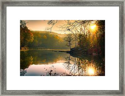 Early Morning Framed Print by Vincent  Dale
