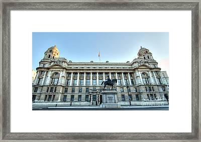 Early Morning Whitehall Framed Print by Deborah Smolinske