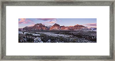 Early Morning Winter Framed Print