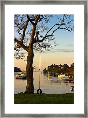 Early One Morning Framed Print by Benjamin Williamson