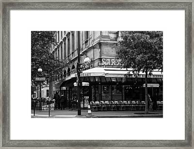 Early One Paris Morning Framed Print