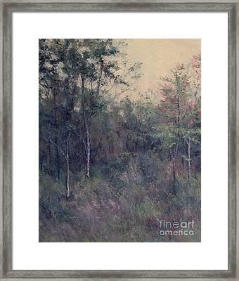 Early September Dusk Framed Print by Gregory Arnett