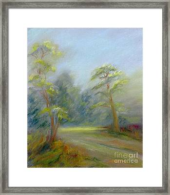 Early Spring Framed Print by Addie Hocynec