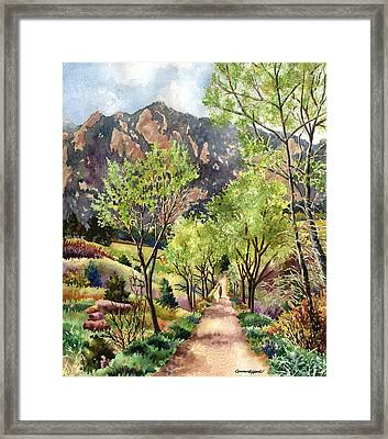 Early Spring Framed Print by Anne Gifford