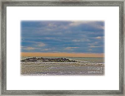 Early Spring At The Shore Framed Print by Tom Gari Gallery-Three-Photography
