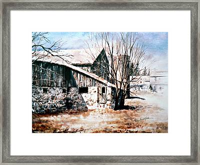 Early Spring Framed Print by Hanne Lore Koehler