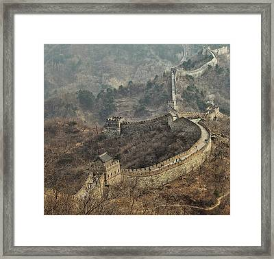 Early Spring In Mutianyu Framed Print