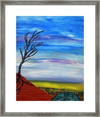Early Spring In The Air Framed Print