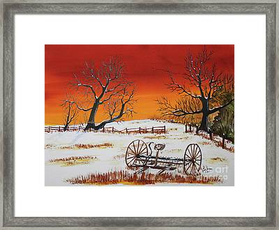 Early Spring Framed Print by Jack G  Brauer