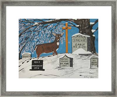 Early Spring Framed Print by Jeffrey Koss